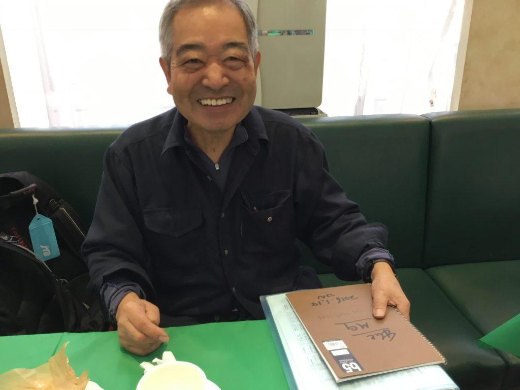 西順一郎先生にコラムの連載をお願いしているところ。