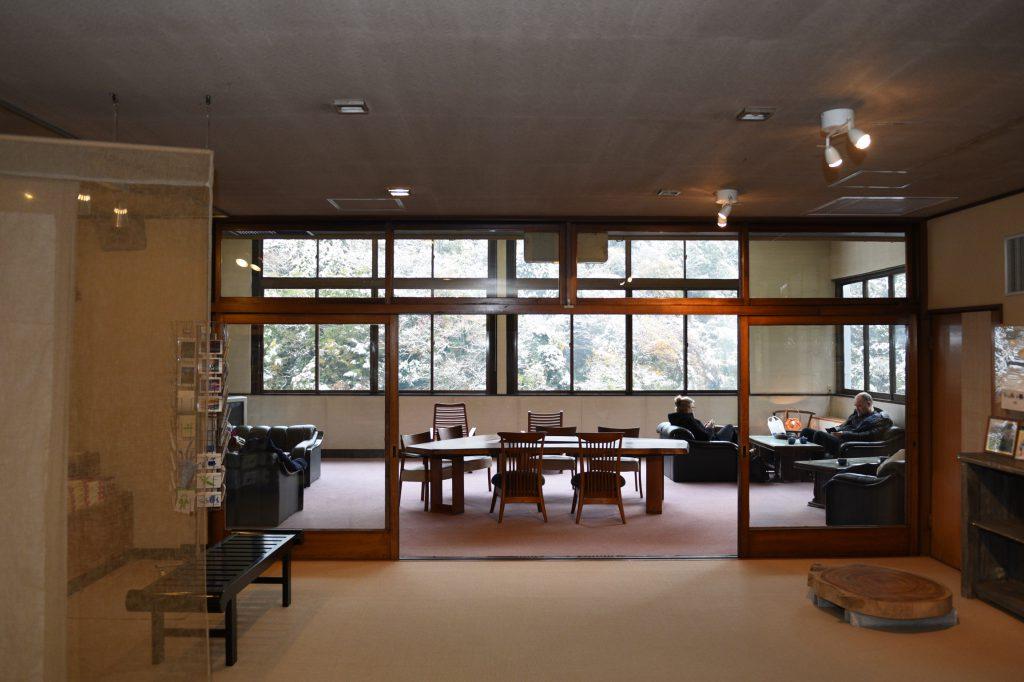 箱根 豊栄荘に入ったところ