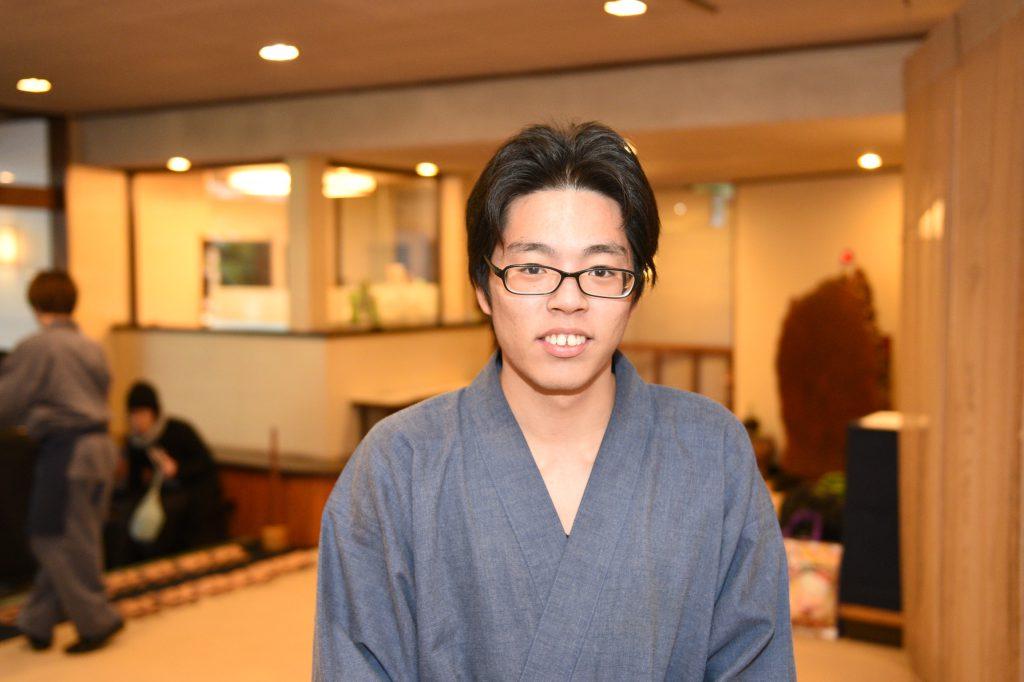 笑顔で対応してくれた木村さん。
